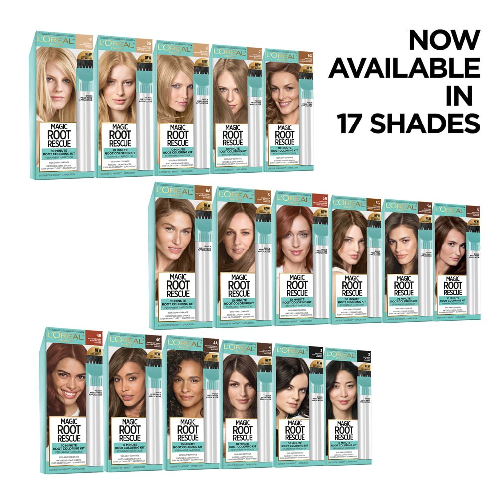 L'Oreal Magic Root Rescue 10 Minute Root Coloring Kit