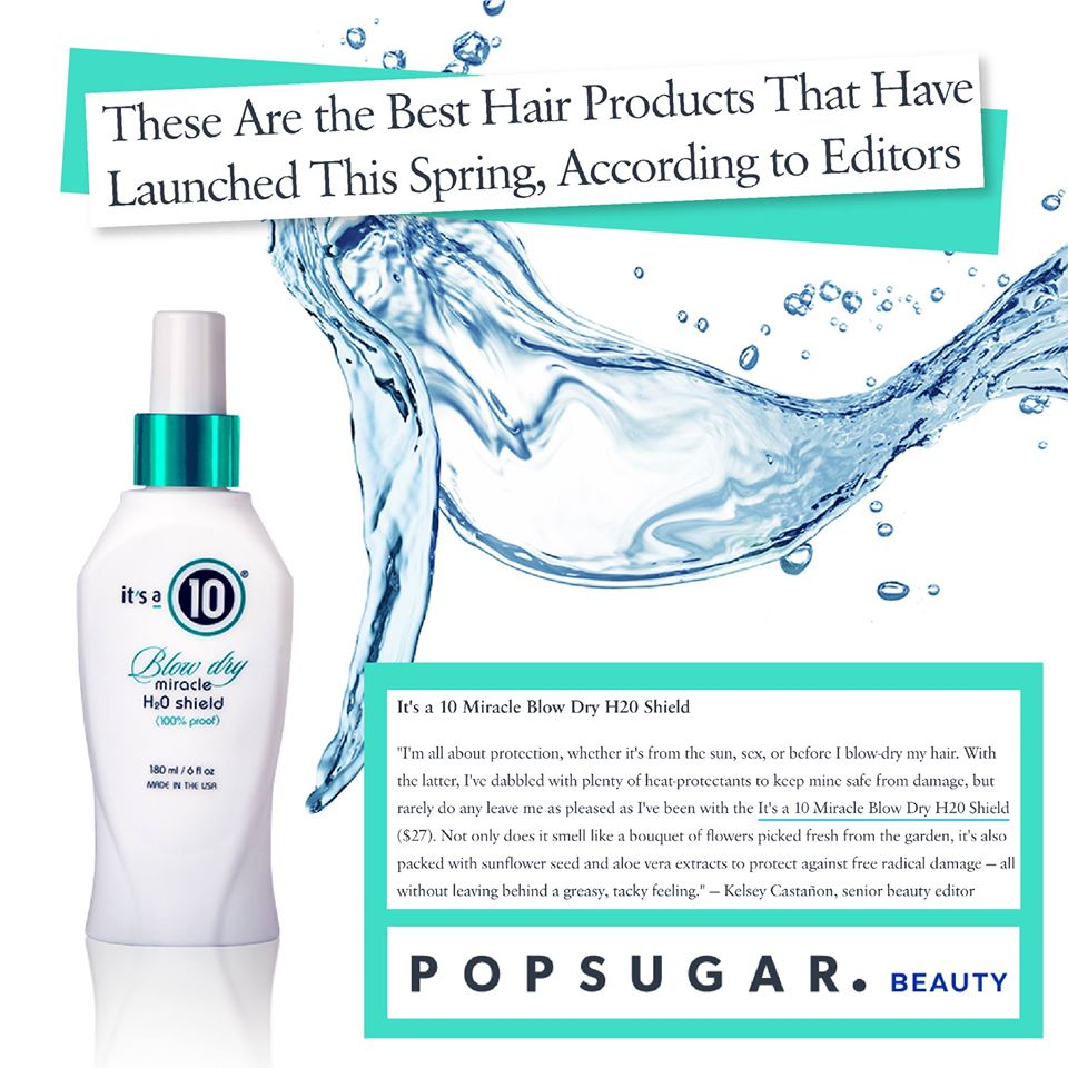 It's a 10 Blow Dry Miracle H2O Shield