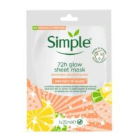 Simple 72h Glow Sheet Mask