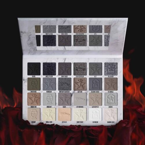 Jeffree Star Cremated Eyeshadow Palette / Jeffree Star Cremated Collection