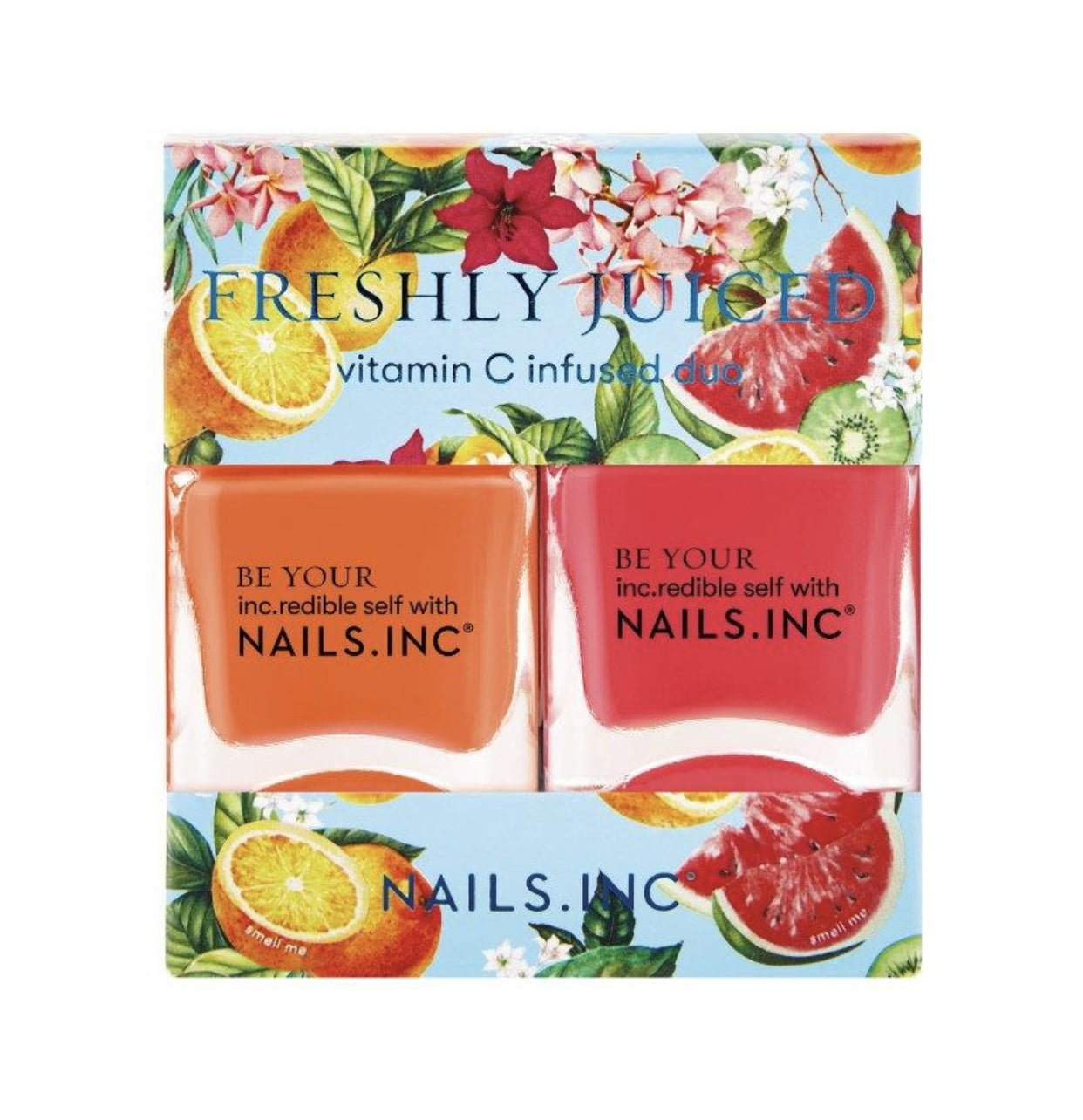 Nails Inc Freshly Juiced Vitamin C Infused Duo