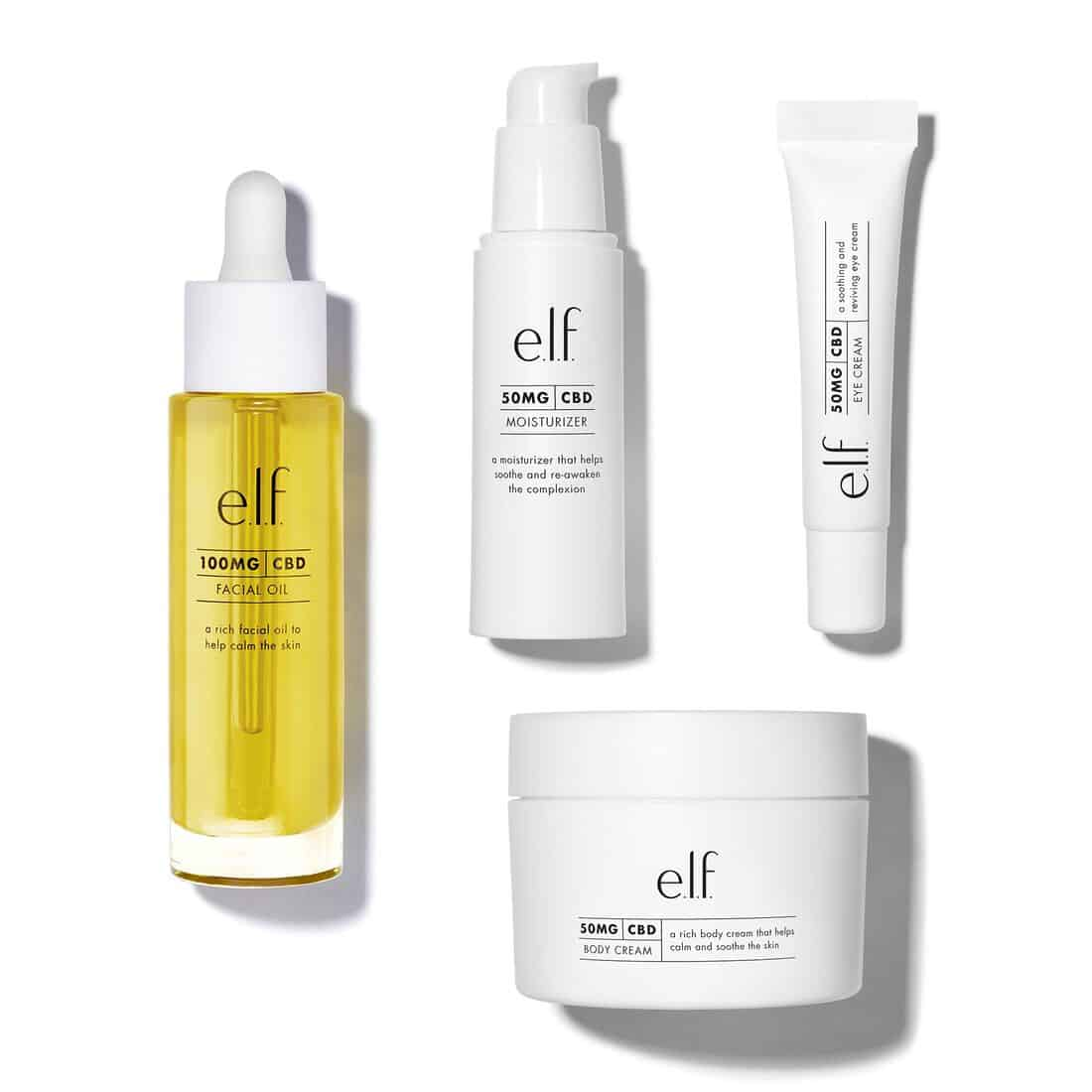 ELF CBD Skincare Collection
