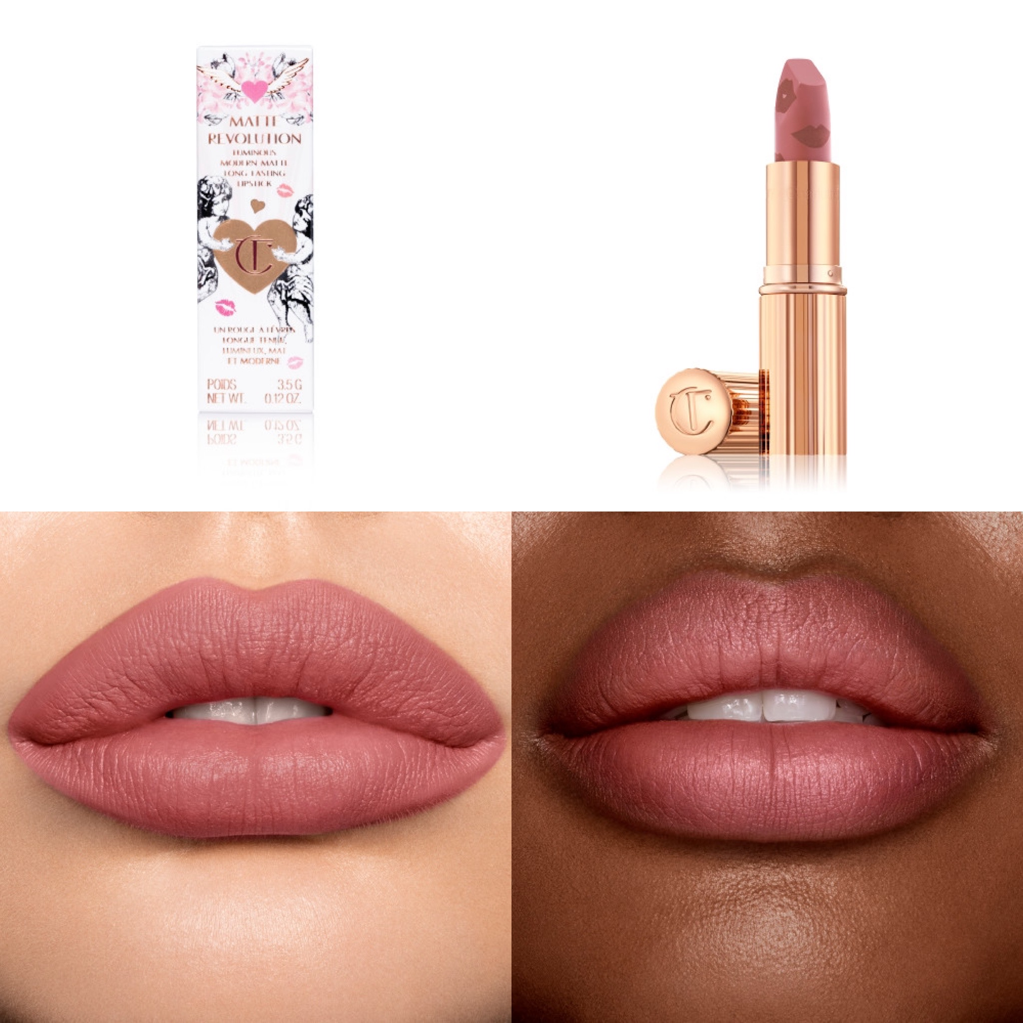 Charlotte Tilbury Bridal Lipstick New Collection   Love Filter Lipstick Collection
