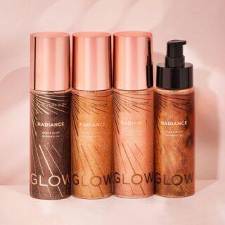 Revolution Glow Radiance Face & Body Shimmer Oil
