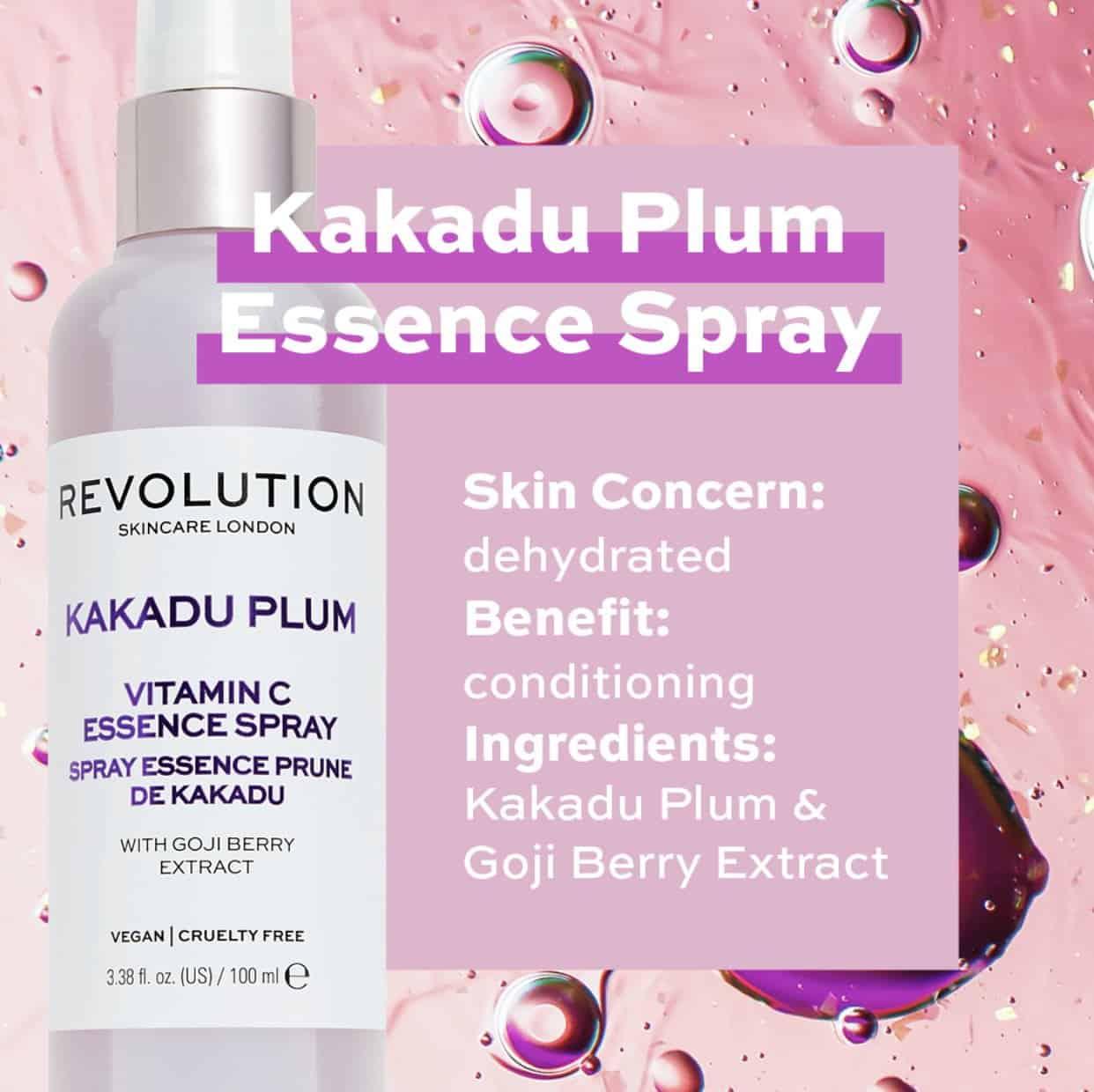 Revolution Skincare Kakadu Plum Vitamin C Essence Spray