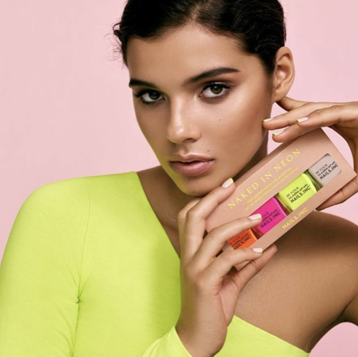 Nails Inc Naked In Neon Gift Set