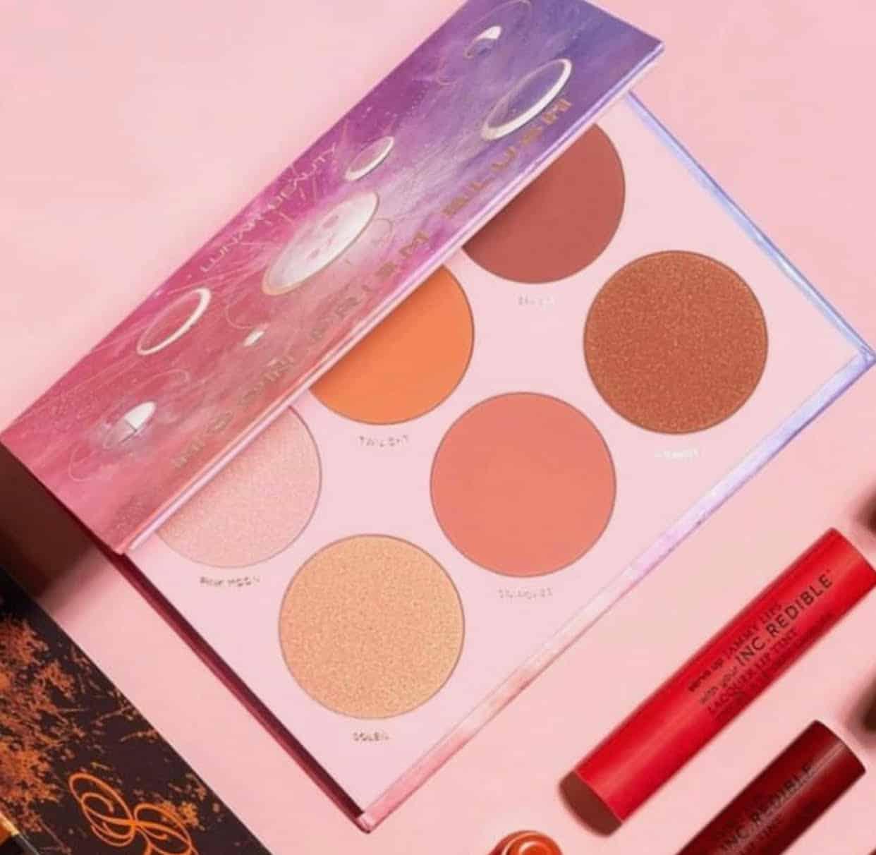 Lunar Beauty Moon Prism Blush Palette Collection