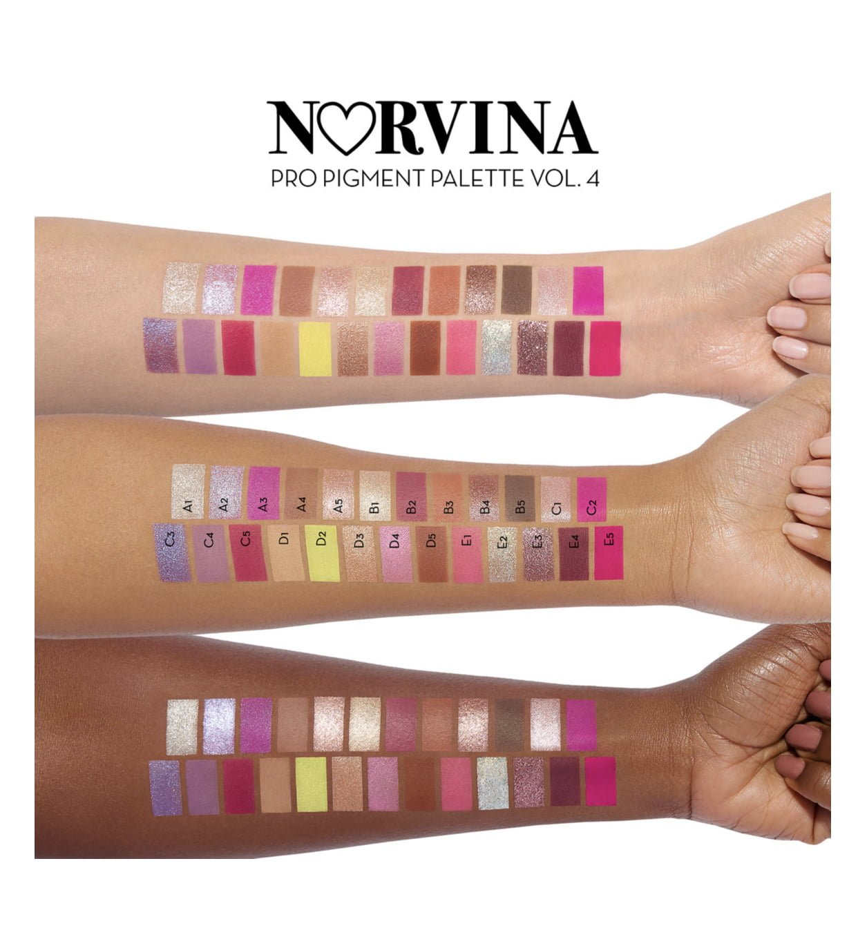 Anastasia Beverly Hills Norvina Pro Pigment Vol 4 Palette Reveal & Swatches!