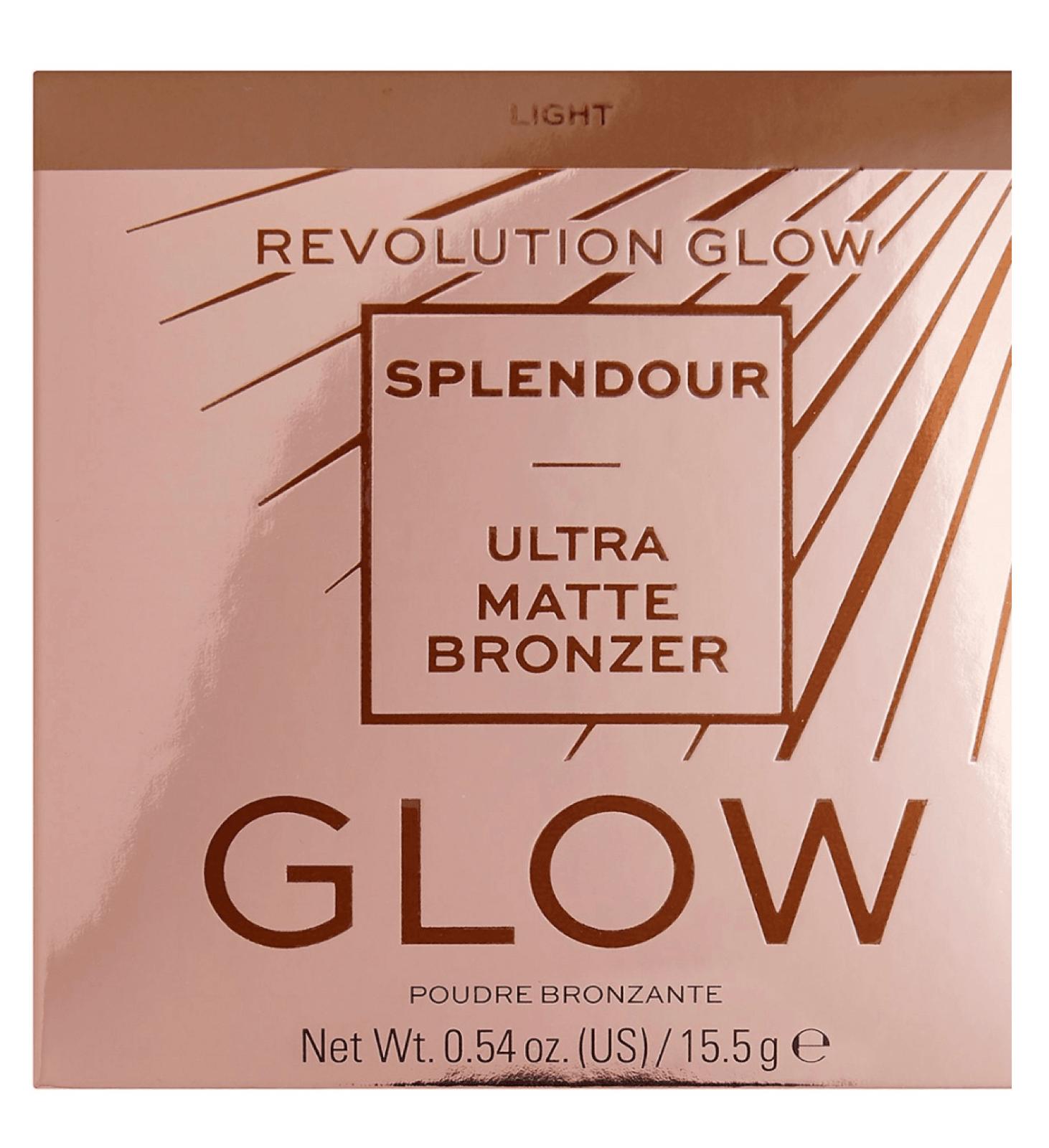 Revolution Glow Splendour Ultra Matte Bronzer