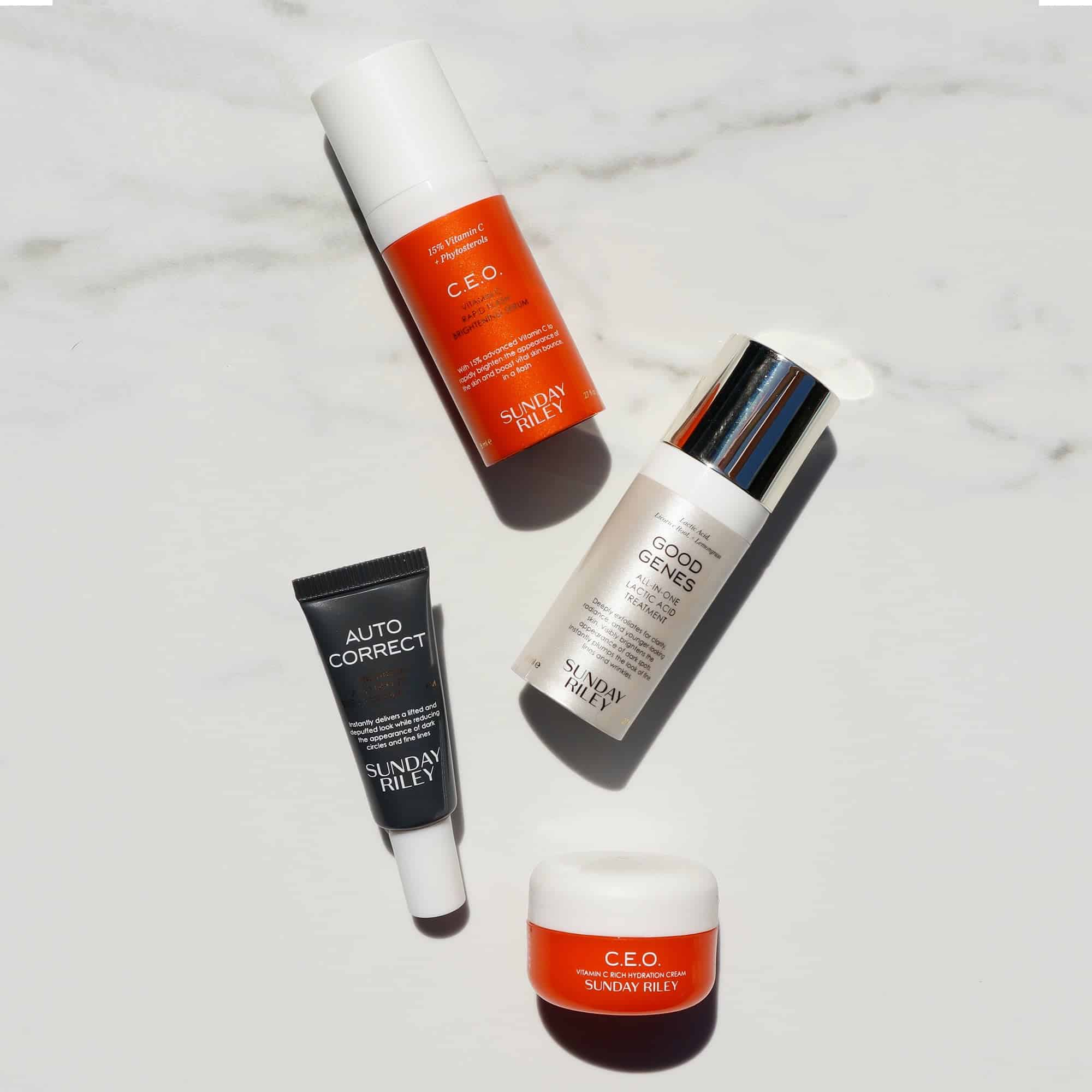 Sunday Riley Glow From Home Bundle Deal