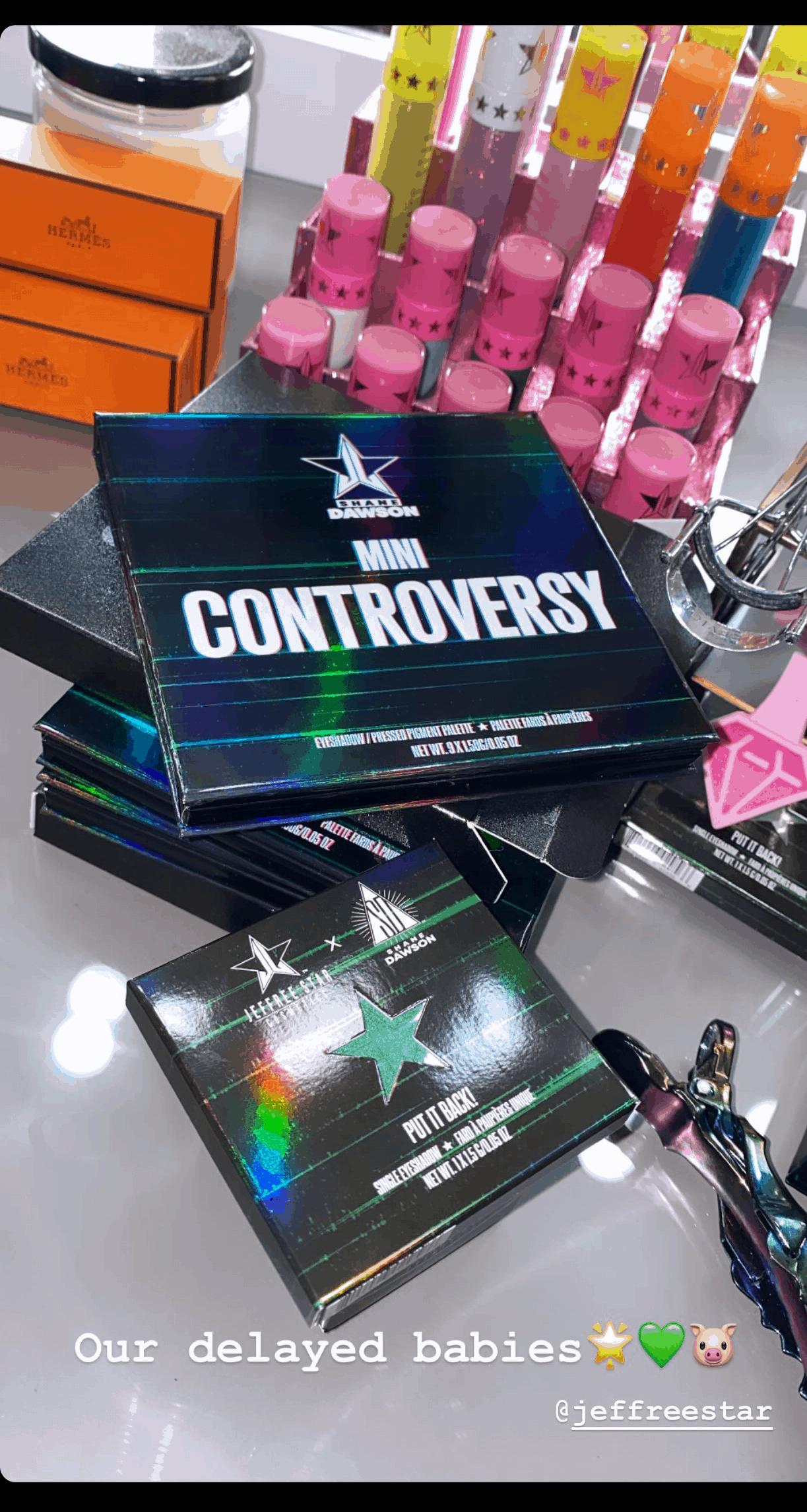 Jeffree Star Put It Back Palette | Jeffree Star Mini Controversy Palette