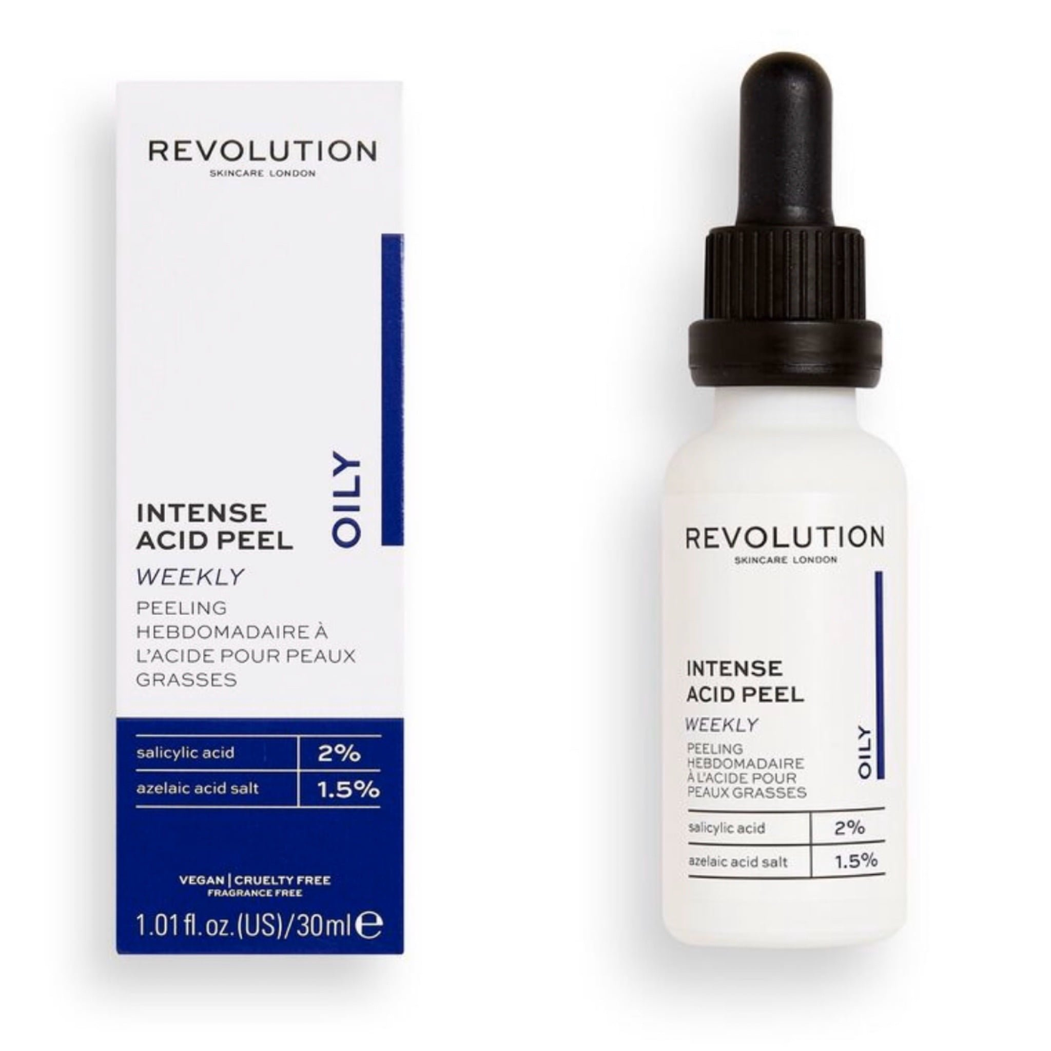 Revolution Skincare Acid Peel Collection | Full Overview