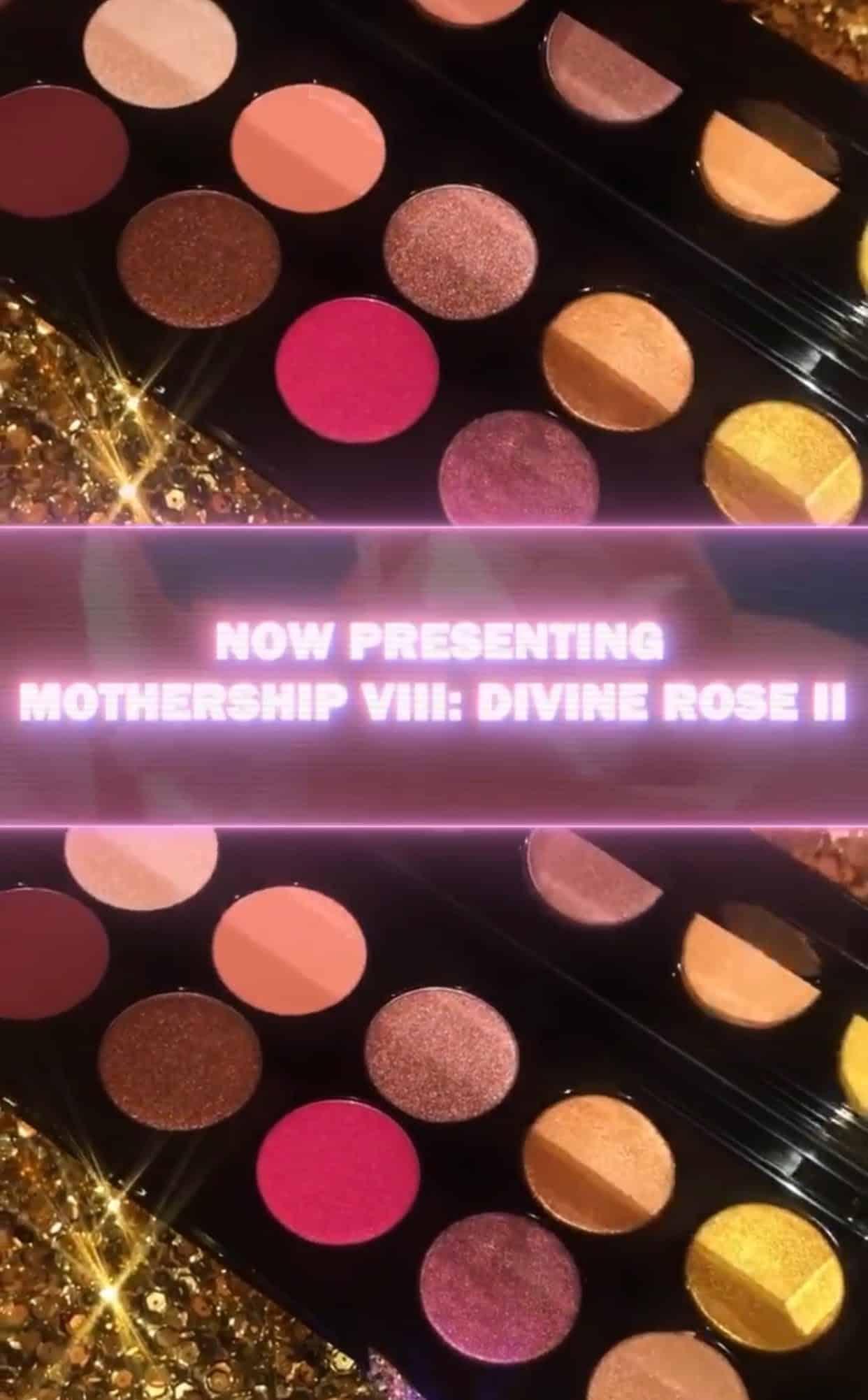 Pat McGrath Mothership VIII Divine Rose II Artistry Palette