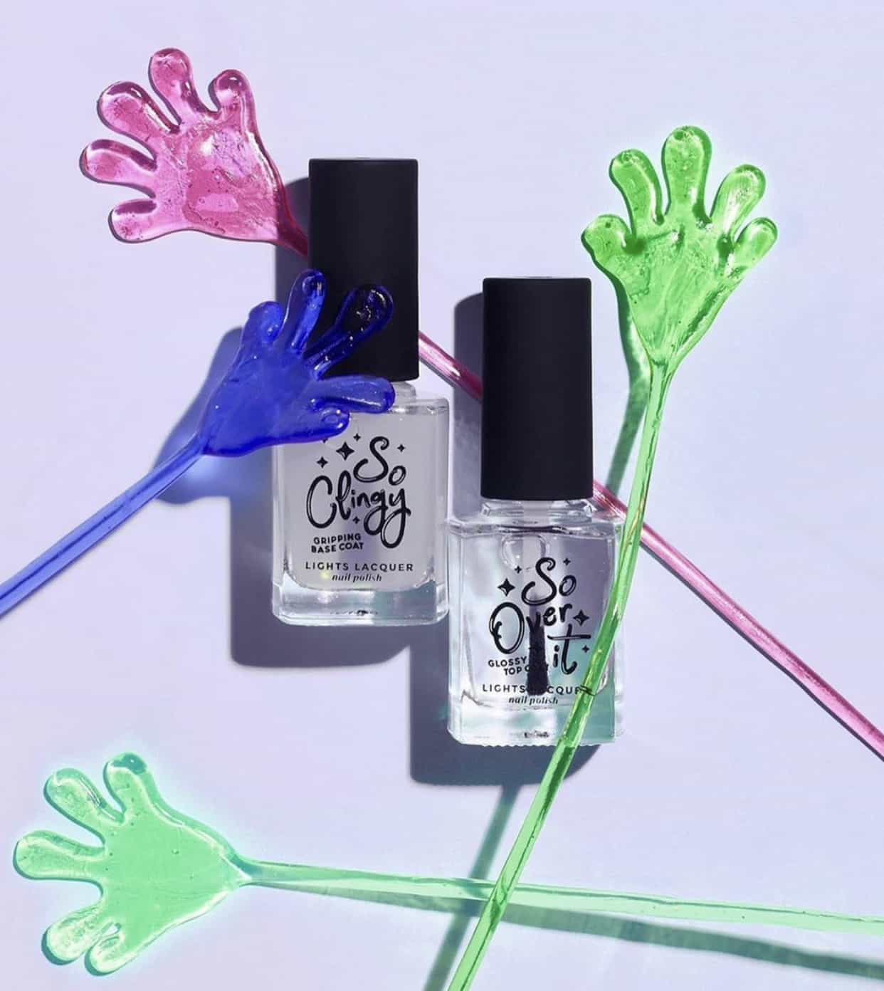 Lights Lacquer So Over It Glossy Top Coat