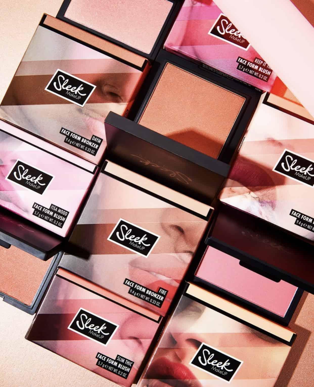 Sleek MakeUP Face Form Blush and Bronzer Collection
