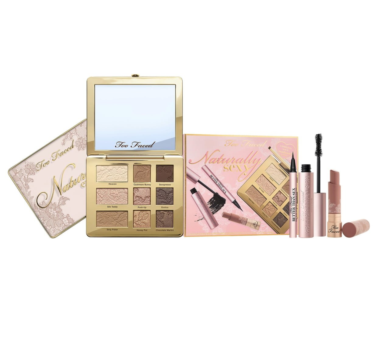 Too Faced Naturally Sexy Ultimate Natural Eye & Lipstick Set