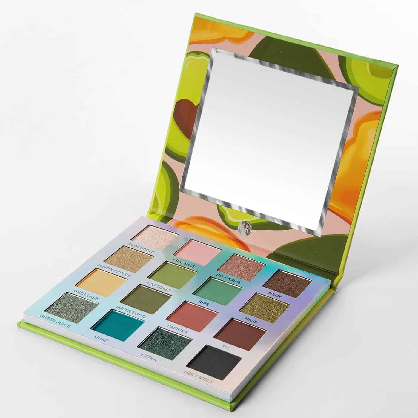 BH Cosmetics Weekend Vibes Avocado Toast Palette