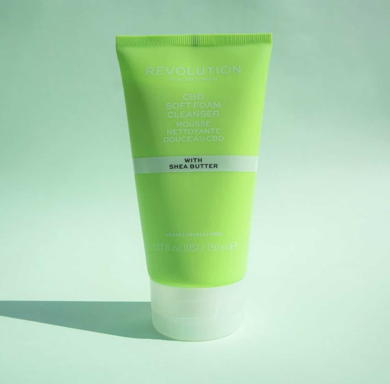 Revolution CBD Soft Foam Cleanser