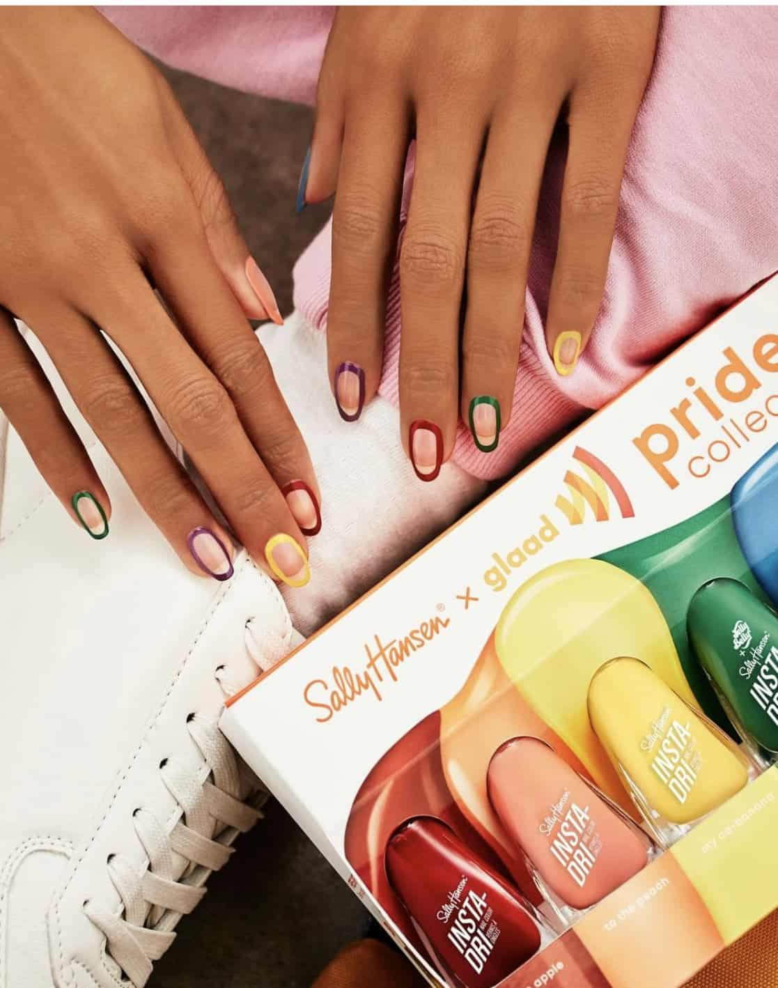 Sally Hansen x GLAAD Pride Collection