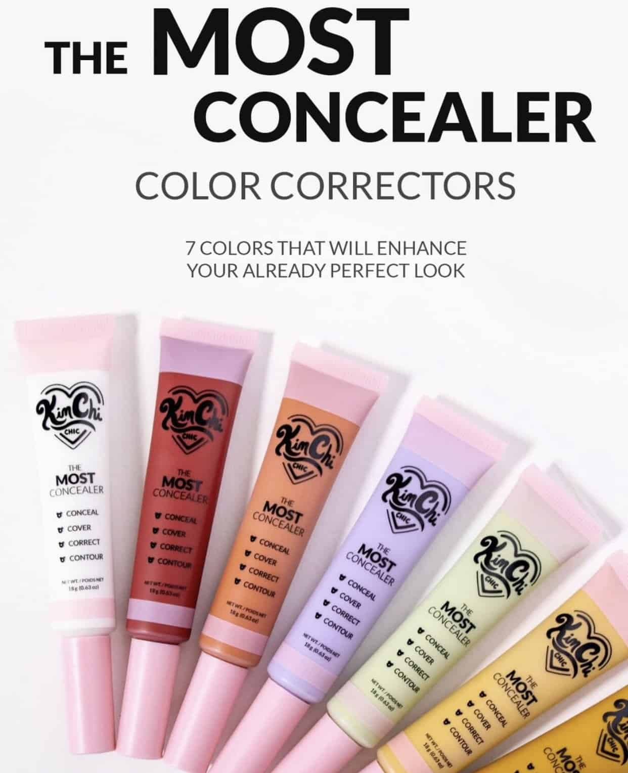 KimChi Chic The Most Concealer Color Correctors