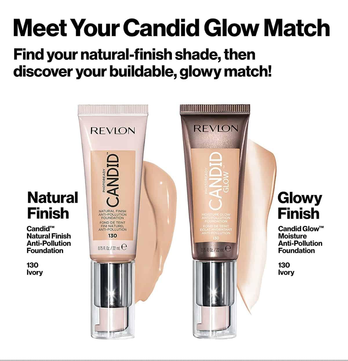 Revlon Candid Glow Moisture Glow Foundation