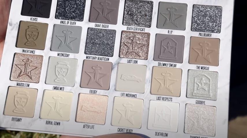 Jeffree Star Cremated Eyeshadow Palette