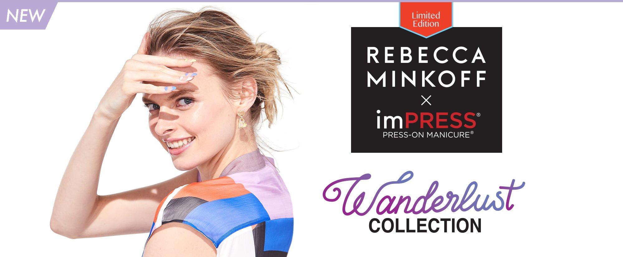 Rebecca Minkoff x imPRESS Wanderlust Collection