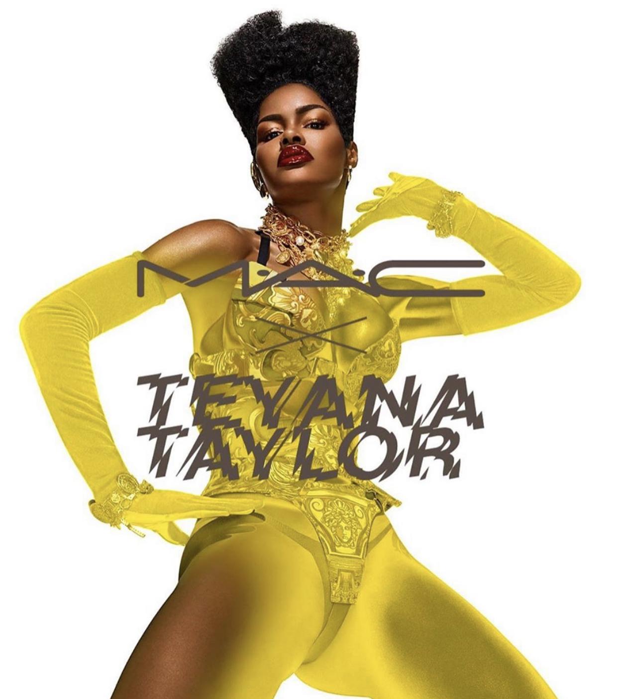 MAC x Teyana Taylor Collaboration