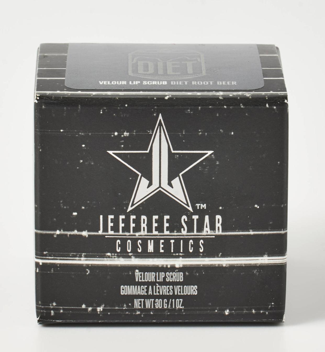 Jeffree Star x Shane Dawson Diet Root Beer Velour Lip Scrub