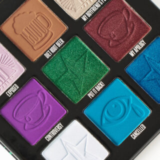 Jeffree Star x Shane Dawson Mini Controversy Palette Emerald Edition