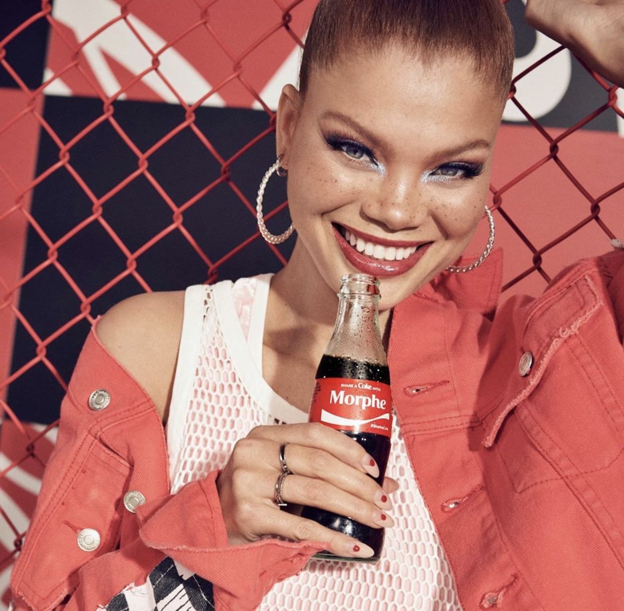 Morphe x Coca Cola Thirst For Life Collaboration 1
