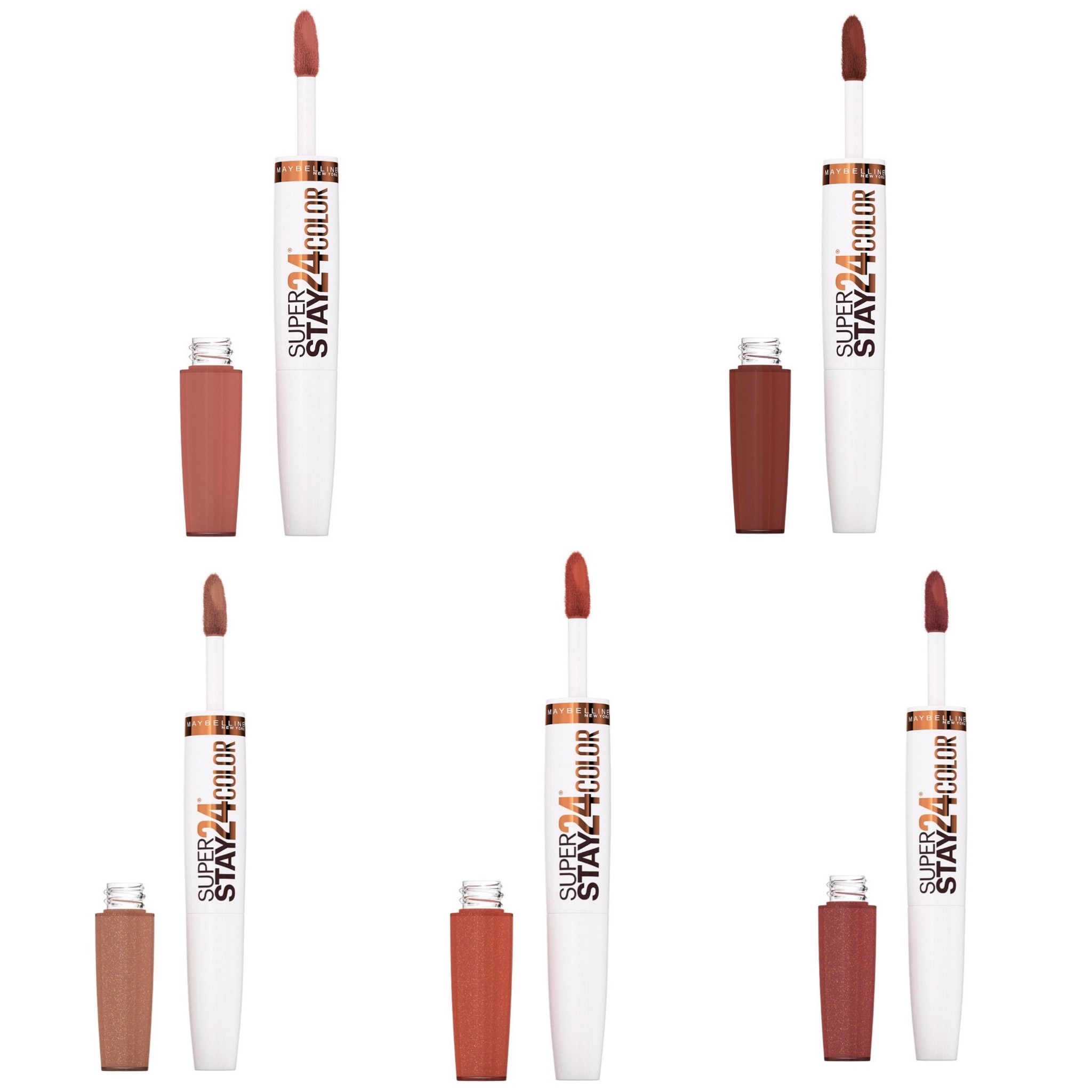 Maybelline Coffee Edition SuperStay 24 Hour Color Lipstick Collection