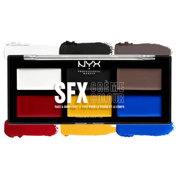 NYX SFX Face and Body Paint Palettes