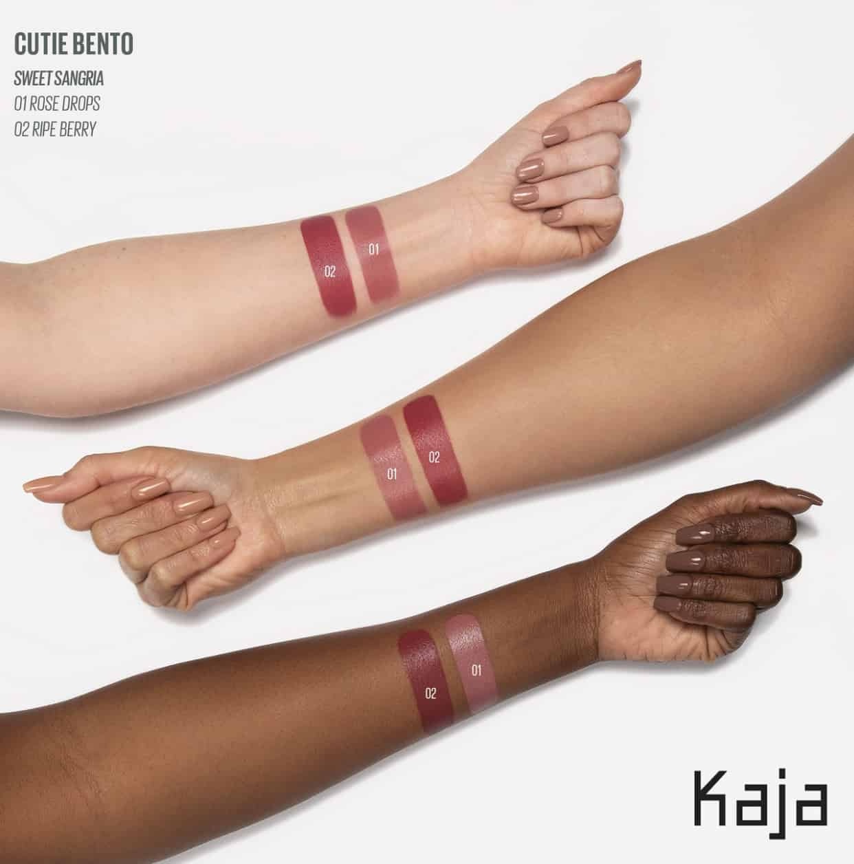 Kaja Cutie Bento Creamy Lip & Cheek Duo