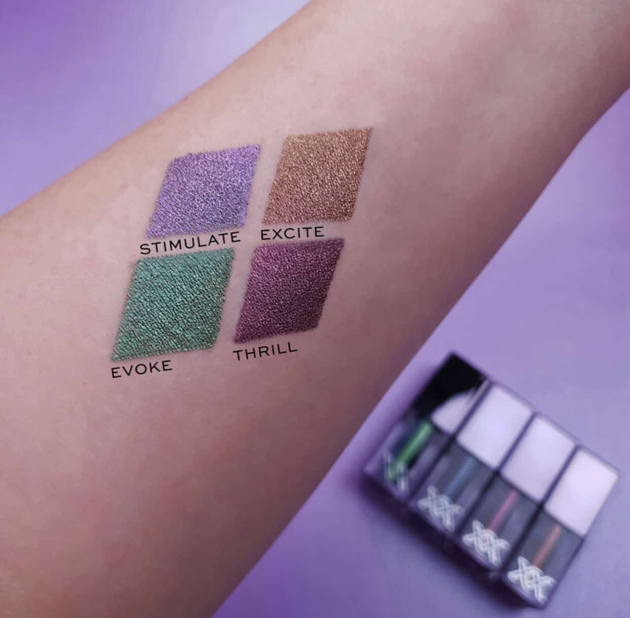 XX Revolution XXcharged Duo Chrome Liquid Eyeshadow