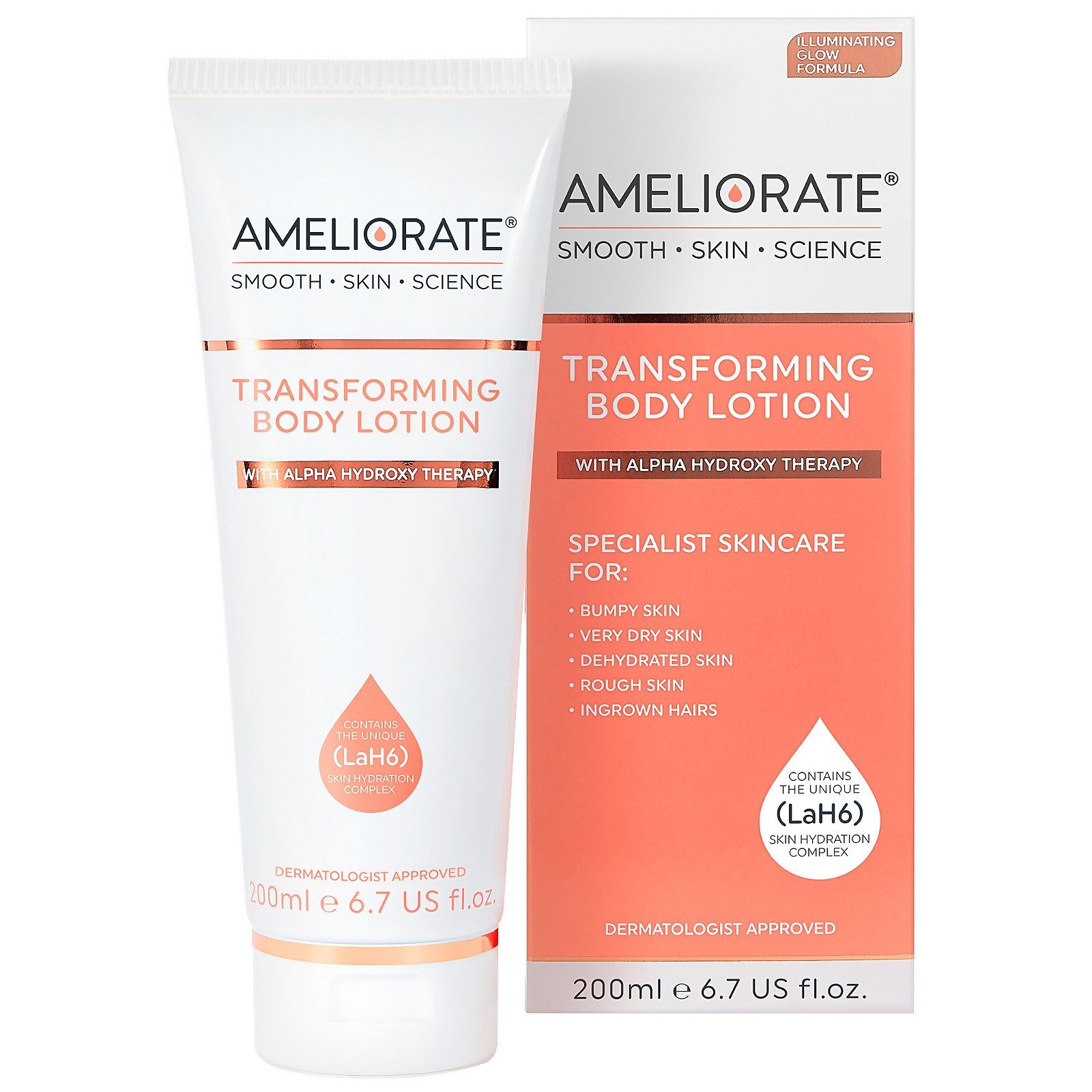 Ameliorate Transforming Body Lotion Illuminating Glow