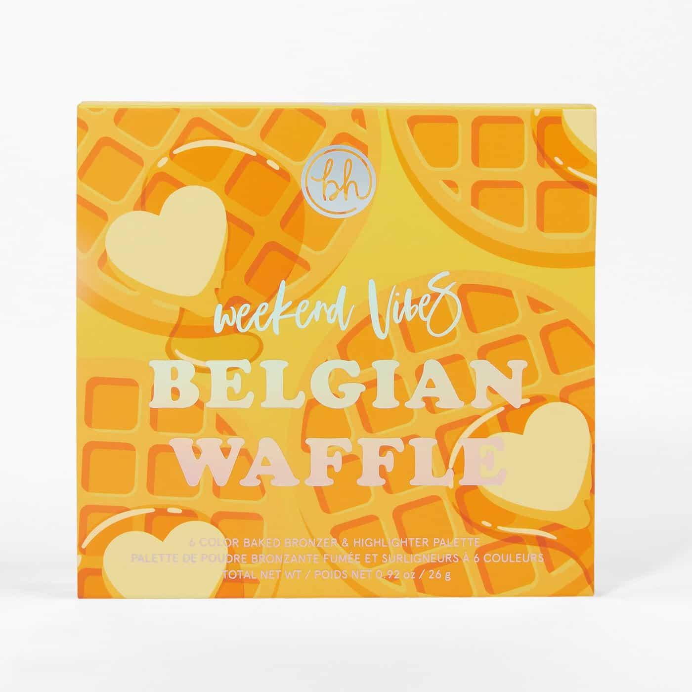 BH Cosmetics Belgian Waffle Highlighter Palette