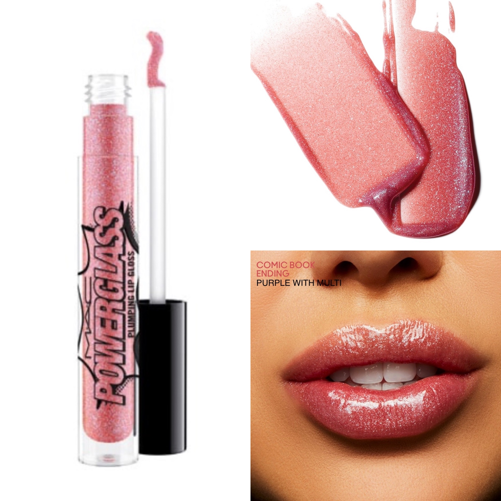 MAC Powerglass Plumping Lip Gloss Collection