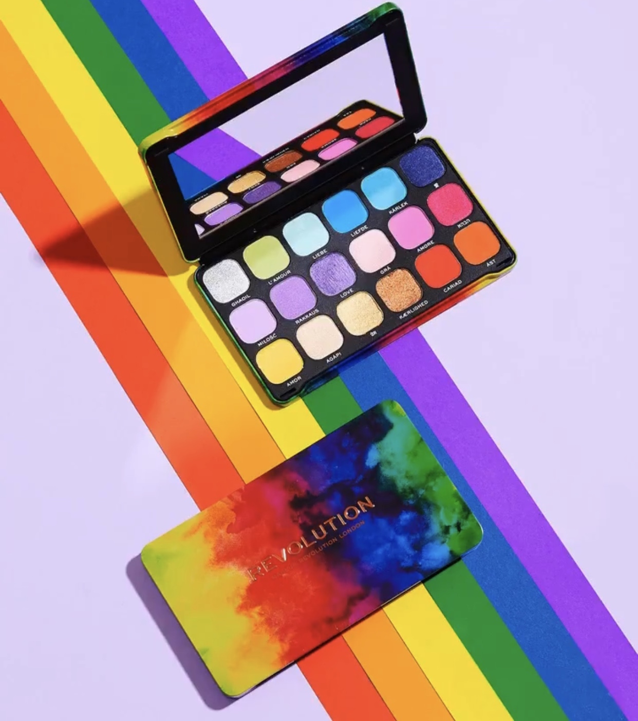 Revolution Forever Flawless We Are Love Palette