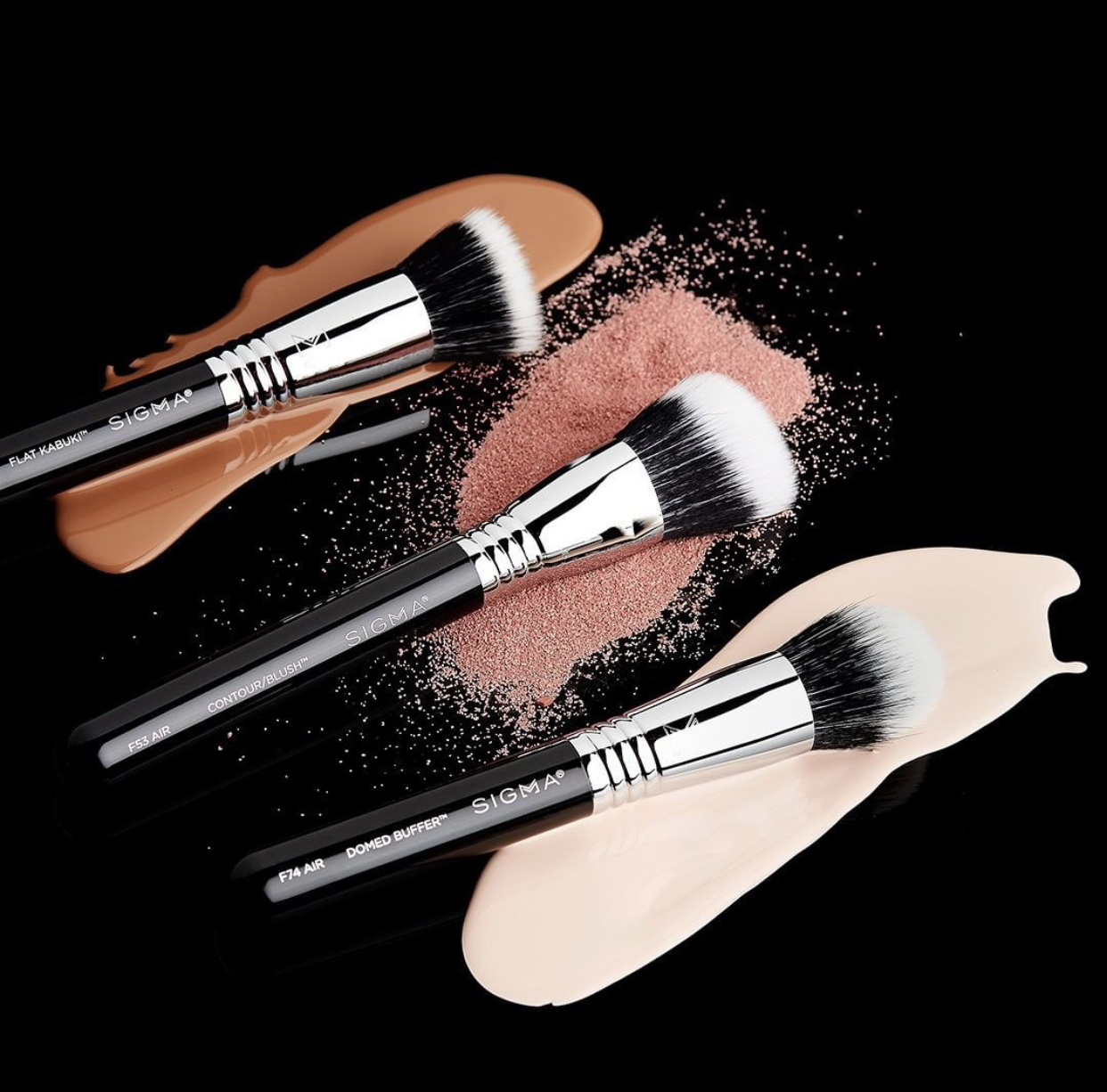Sigma Complexion Air Makeup Brushes
