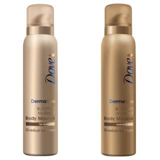 Dove DermaSpa Summer Revived Skin Gradual Fake Tan Mousse