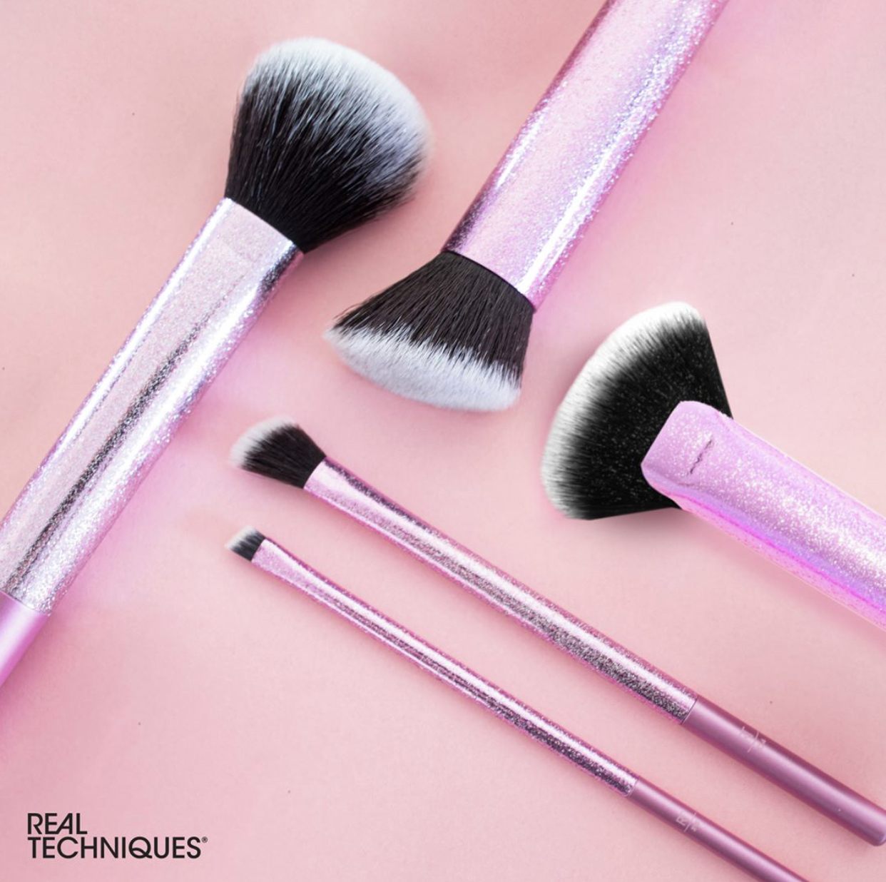 Real Techniques Pretty In Pink Brush Collection