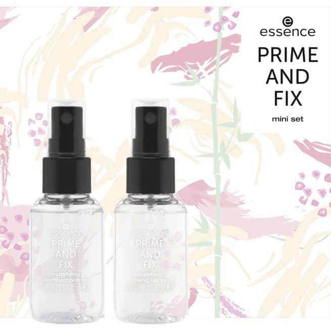 Essence Prime And Fix Mini Set
