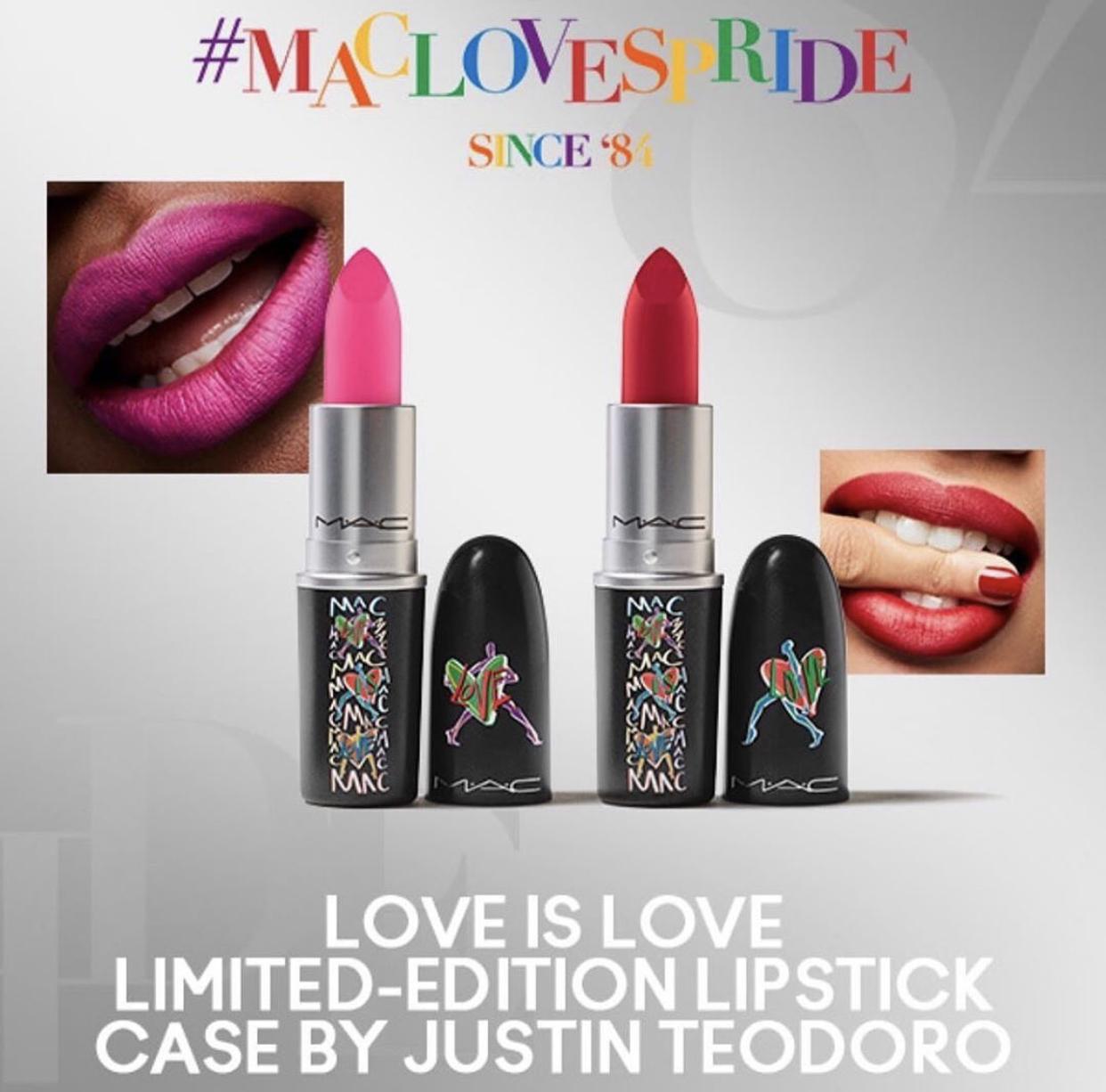 MAC Love Is Love Limited Edition Lipsticks
