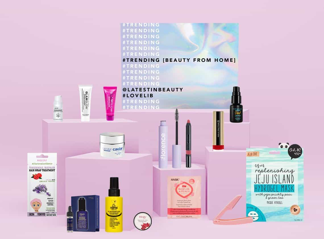 Latest in Beauty Trending Beauty From Home Edit June 2020