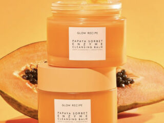 Glow Recipe Papaya Sorbet Smoothing Enzyme Cleansing Balm