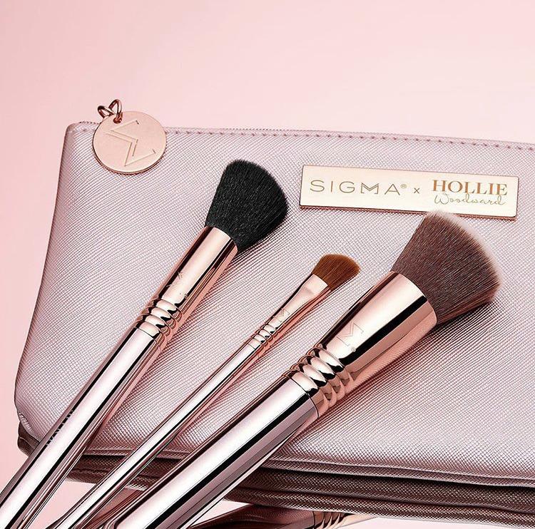 Sigma Beauty x Hollie Woodward On The Glow Brush Set