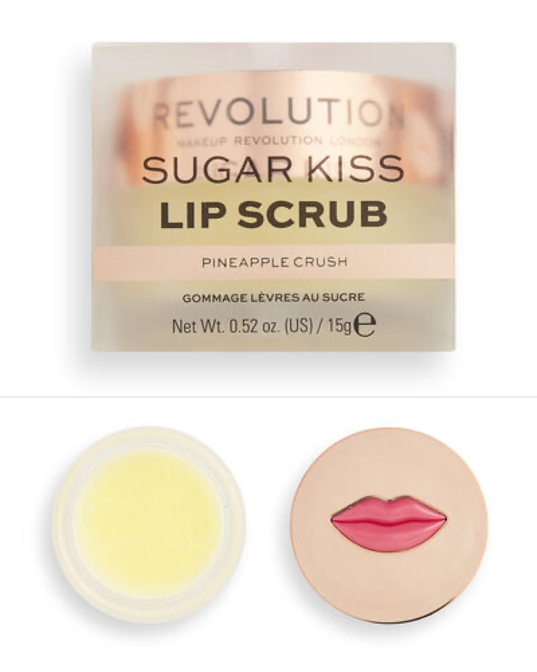 Revolution Sugar Kiss Lip Scrub