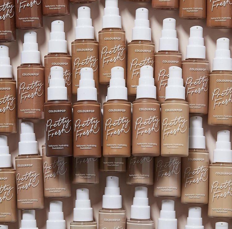 ColourPop Pretty Fresh Hyaluronic Hydrating Foundation