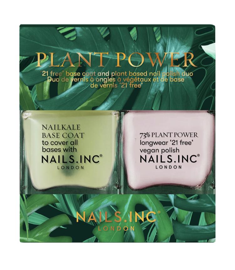Nails Inc Plant Power Nail Polish Duo